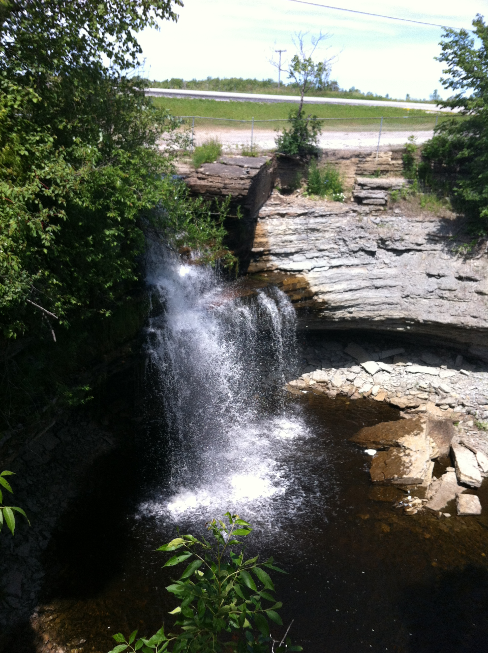 Waterfall on Manitoulin Island