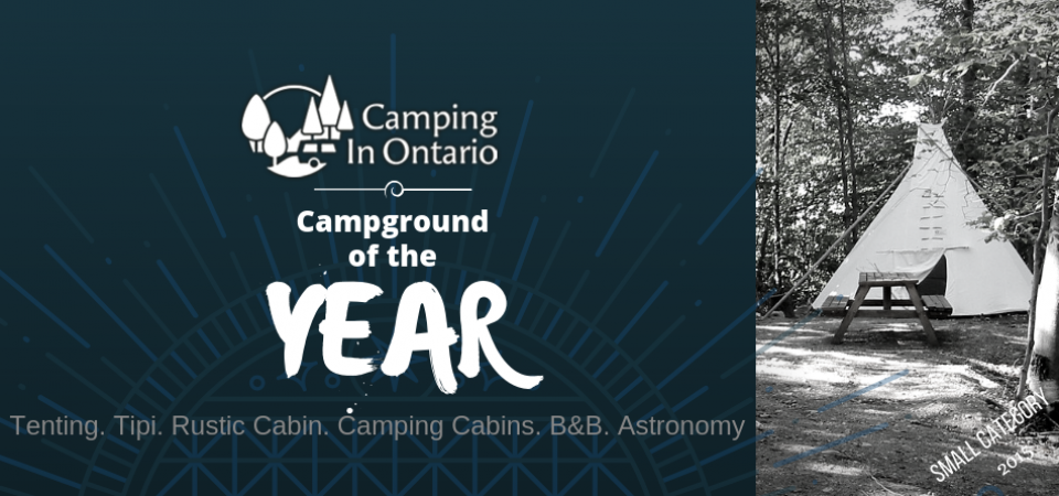 Campground of the year small category 2015